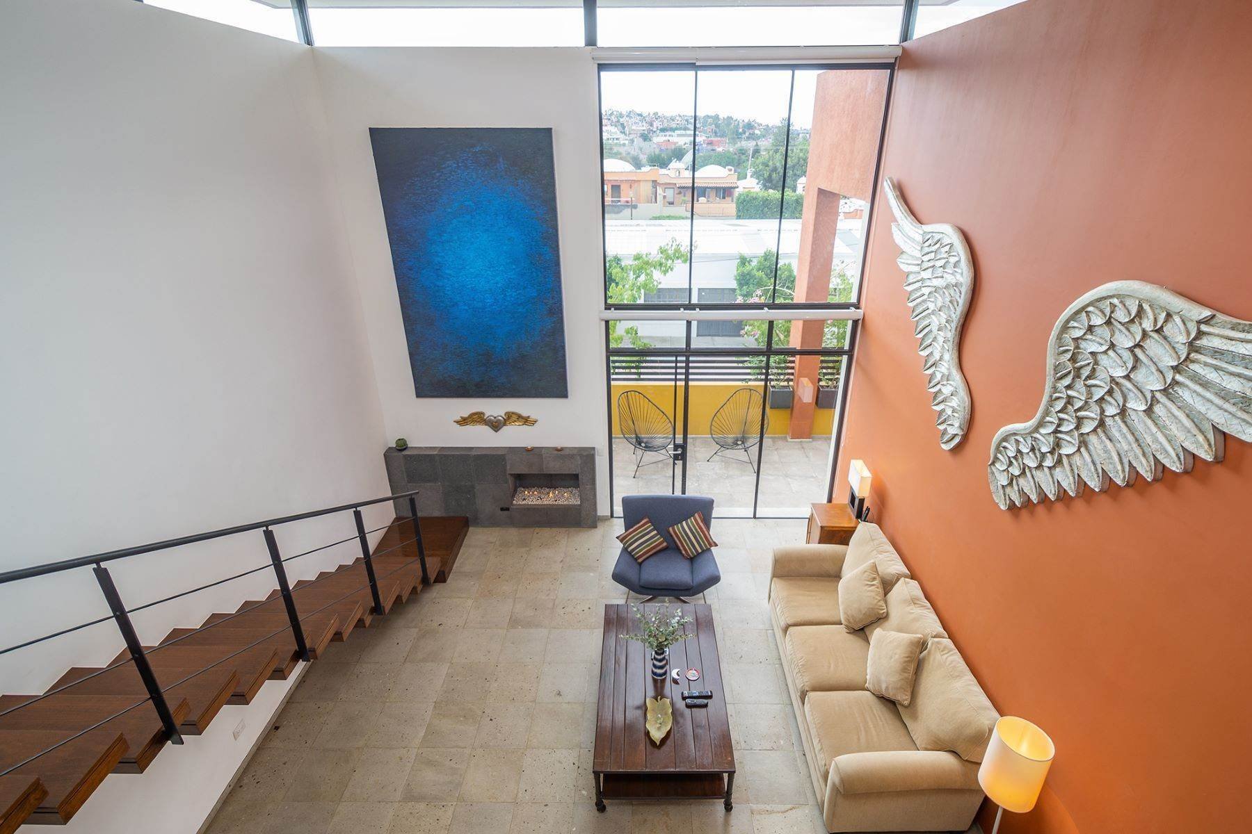 15. Single Family Homes for Sale at Chimal Loft Miguel Araujo 1B San Miguel De Allende, Guanajuato 37700 Mexico