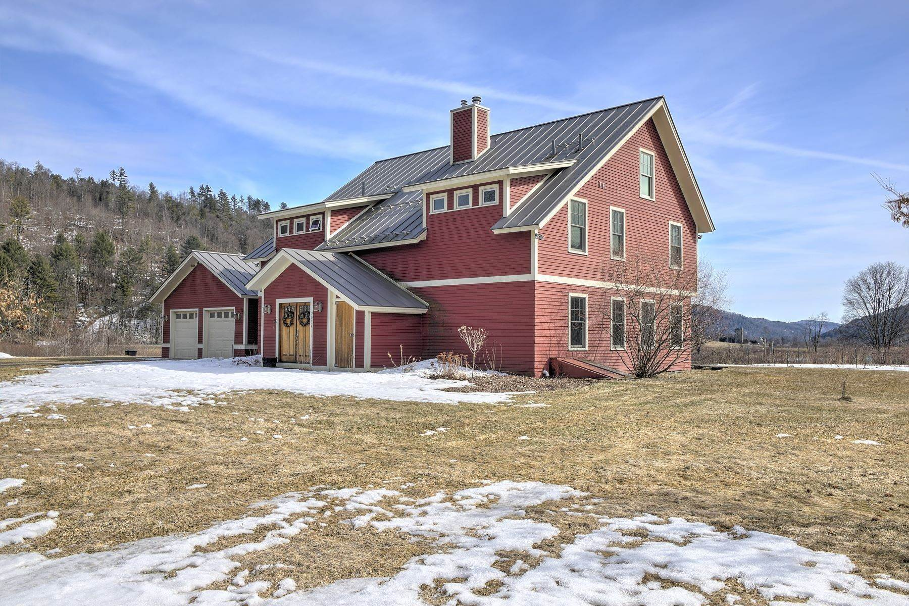 32. Single Family Homes for Sale at 2034/2069 Old Post Road Brookfield, Vermont 05036 United States