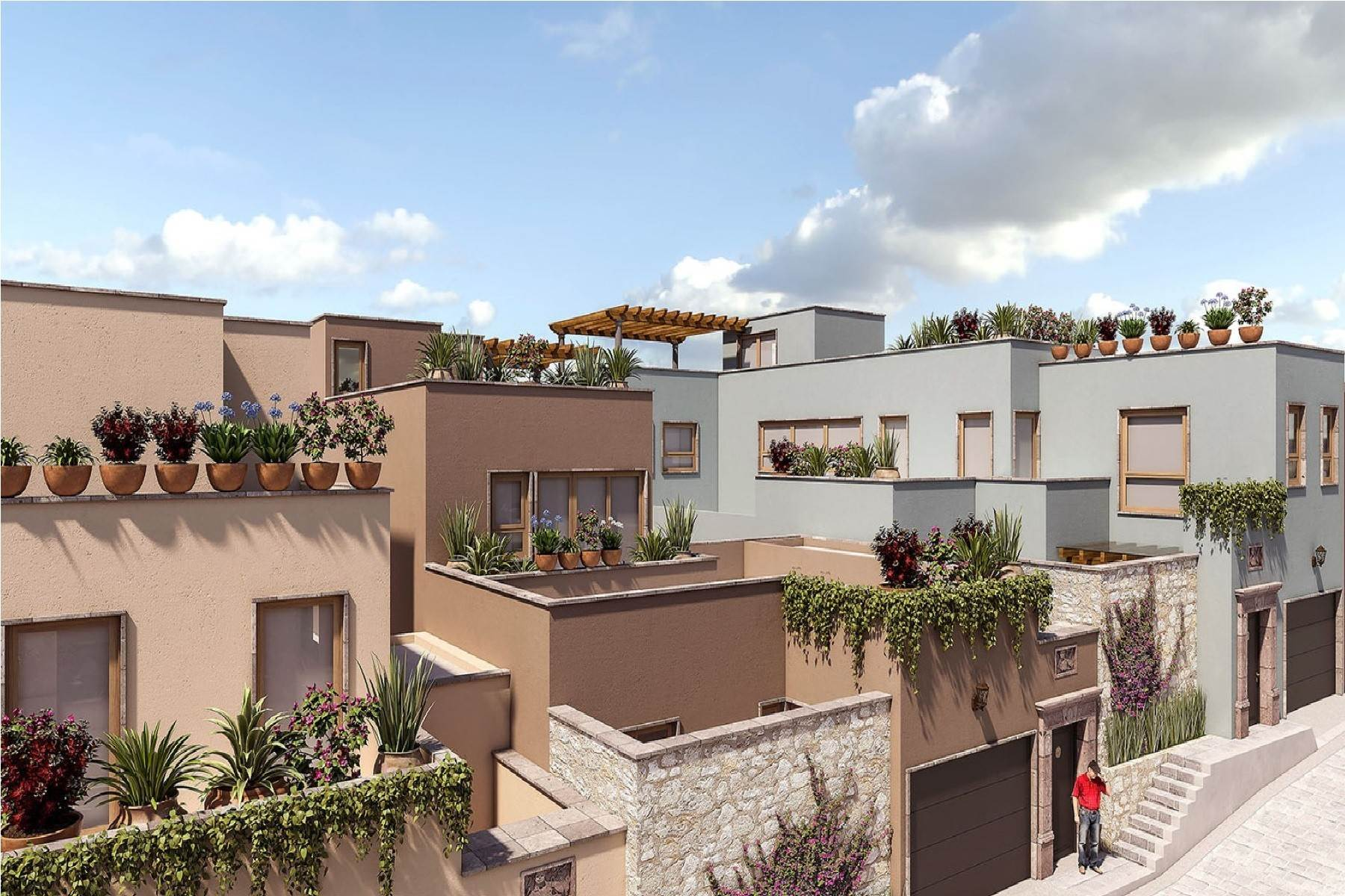 3. Single Family Homes for Sale at Quiote I Cerrada de Grillo San Miguel De Allende, Guanajuato 37770 Mexico
